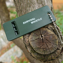 Useful Survival Whistle First Aid Kits Outdoor Emergency Signal Rescue Camping Hiking outside sport practical