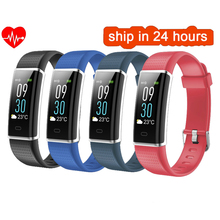 Buy 2018 ID130Plus Color Smart wristband Heart rate Watches Smart bracelet Fitness tracker Smart band PK mi band 3 for $19.69 in AliExpress store