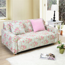 2017 Fashion Flower Europe Sofa Cover Big Elasticity Flexible Couch Cover Loveseat Machine Slip-resistant Drawing Room Decorate
