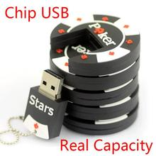 1 Year Warranty 2.0 8GB 16GB 32GB 64GB Rubber Poker Stars Pokerstars USB Flash Drive 2TB 1TB Pen Drive Cute Gift Pendrive 128GB