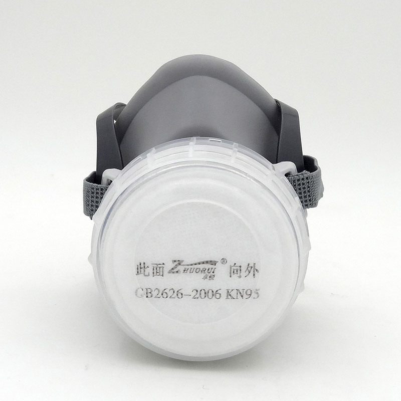 The new 2017 respirator gas mask silica grey ZR - 02 pesticides gas patrone gas mask N95 respirator<br><br>Aliexpress