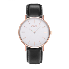 Hot Brand Clock women watches Leather strap Sports Quartz men Watch Casual Couple Models Various styles 6 color Wristwatches