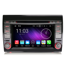 "7"" Android 7.1.2 Nougat OS Special Car DVD for Fiat Bravo 2007-2014 with 2GB RAM 16GB ROM & External DAB+ Receiver Box Support(China)"