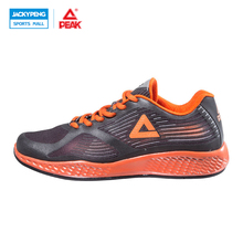PEAK Outdoor Sport Summer Running Shoes for Men Women Fasion Sneakers 2017 Mesh Breathable Orange Sport Shoes