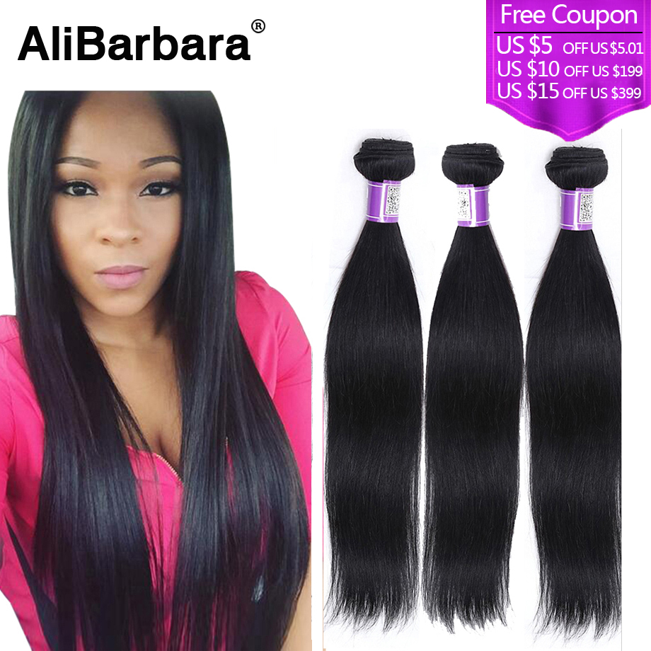 Brazilian Virgin Hair Straight 3bundles #1B cheap Rosa hair products Brazillian Straight Hair unprocessed human hair weaves<br><br>Aliexpress
