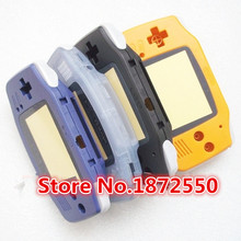 3 pcs/lot Full Set Multi-Color With Rubber Pad Housing Case for Gameboy Advance GBA Console Replacement Shell With Original Logo