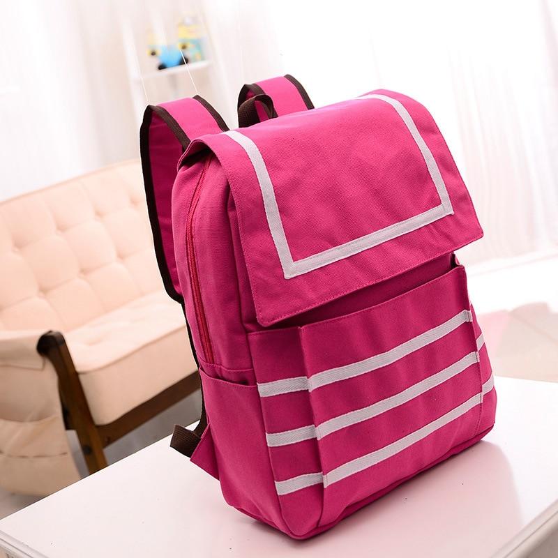 Hot Promotion 2015 Womens Vintage Canvas Satchel Rucksack Shoulder School Bags For Teenagers Girls Backpacks travel backpack<br><br>Aliexpress