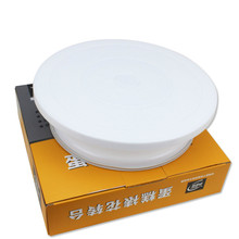 Light Solid Cake Decorative Taiwan DIY Decorative Table Eco-friendly Plastic Rotary Turntable