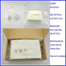 2015 new arrival and easy use 260*143*78mm waterproof ip 68 custom plastic enclosure electronic project box(China)