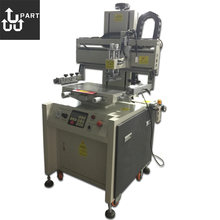 semi-automatic flat bed silk screen printer, screen printer machine for uv ink,prices screen printer