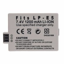 NEW Replacement 7.4V 1200MAH Rechargeable Li-Ion Battery for CANON LP-E5