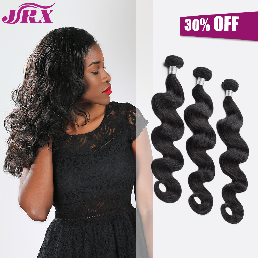 JRX 3 Bundles 7A Indian Remy Body Wave Human Hair From 10 inches to 30 inches<br><br>Aliexpress