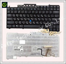 Russian Keyboard for Dell Latitude D620 D630 D631 D820 M65 D830 PP18L RU(China)