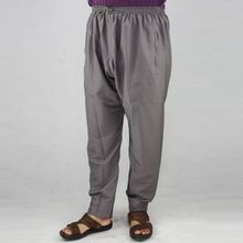 Free shipping Men muslim Prayer Pants Indian Turkish Pakistani Clothes Mens islamic clothing Middle East Arab Trousers 70101(China)