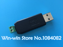 10pcs/lot USB to RS485 485 Converter Adapter Support Win7 XP Vista Linux Mac OS WinCE5.0