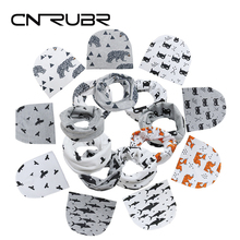 CN-RUBR Cartoon Baby Hat Beanies Cotton Spring Kids Boy Girl Cap Crochet Knitted Newborn Photography Props Scarf Accessories