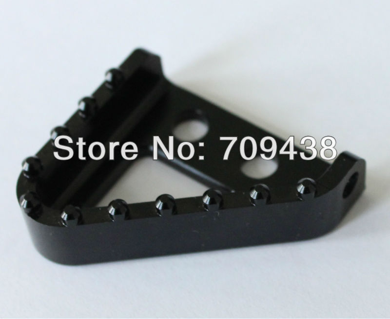 NEW KTM STEP PLATE FOR BRAKE PEDAL LEVER TIP Fits all 125-530cc 2004-2010 690 950 SUPERENDUROR ADVENTURE BLACK<br>
