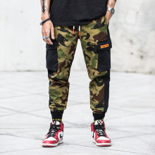 2019 Men New Pants High Street Fashion Men Jeans Loose Fit Harem Pants Army Green Color Hip Hop Jeans For Jeans !K815(China)