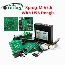 2017 Newest XPROG V5.60 Professional ECU Chip Tuning Tool X PROG 5.60 With USB Dongle Decypte New Version For BM CAS4 Hot Sale