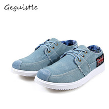 Brand New Arrival Low Price Mens Breathable High Quality Casual Shoes Jeans Canvas Casual Shoes Men Fashion Flats Loafer