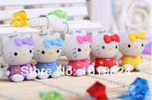 100% real capacity 2GB 4GB 8GB Cartoon sitting position usb  kt cat lovely USB Flash USB Flash Drives Pendrive USB Memory stick