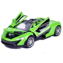 Collectible Car Models 1:32 McLaren P1 Alloy Diecast Car Model Toy Vehicles Electronic Car With Light&Sound Gift for Kids l45