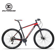 EUROBIKE EUROBIKE 29 Inches Carbon Fiber 27speed MOUTAIN BIKE Double Brake Mens BICYCLE(China)
