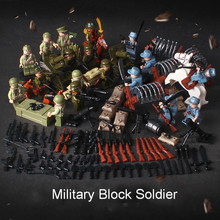 Estartek Block Toys WWII China Army Vs Japan Army Battle Sence + Weapon Set for Kid Holiday Gift and Fans Collection