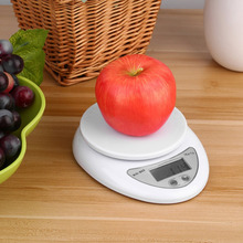 5kg 5000g/1g Digital Kitchen Food Diet Postal Scale Electronic Weight Scales Balance Weighting LED Electronic