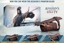Assassins Creed 5 Unidade Escondido Lâmina Cosplay assassins creed lâmina escondida Edward Kenway Traje Figura de Ação Novo na Caixa de Varejo
