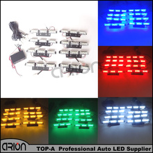 72 LED 72W Emergency Vehicle Strobe Lights 1PC 1W Flash Warning Red White Blue Amber LED Police Fireman Lamp Free Shipping
