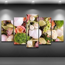 HD Printed Home Decor on wall art pictures Framed Spray Oil Painting Decoration Artistic Print Painting on Canvas Flowers AE0134