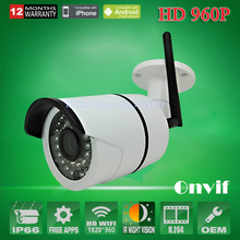 2 Pieces 960P IP Camera Wireless 1.3MP Wifi security system Outdoor video capture surveillance HD ONVIF CCTV mini cameras(China)
