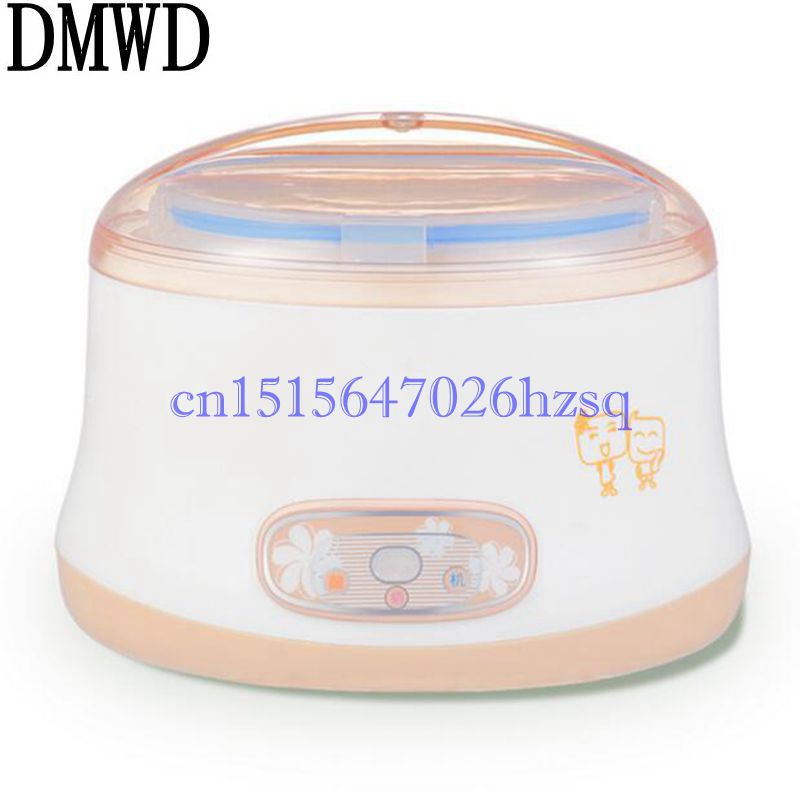 DMWD 220V 15W Multifunctional Household Electric yogurt maker Food grade material liner Mini  Automatic Yogurt Machine Kitchen<br>