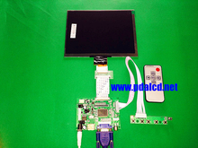 "HDMI/VGA/AV Control Driver Board + 8""inch HL080IA-01E 1024*768 IPS high-definition LCD Display For Raspberry Pi"