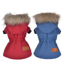 Buy Fashion Padded Thickening Warm Winter Dog Clothes Dog Coat Jacket Hoodies Pet Dog Clothing Small Dogs Chihuahua Teddy Yorkie for $5.92 in AliExpress store