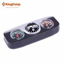 KingCamp 2017 New Car compass thermometer Hygrometer 3in1 Guide Ball Car Boat Vehicles Auto Navigation Compass camping SUV