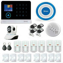 WIFI GSM Home Security Alarm System GPRS SMS Alarm Equipment Home Security Sound Alarm Home Security Protection