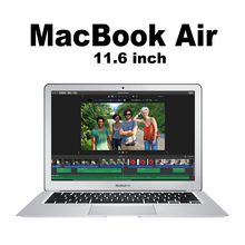 Apple Original 11.6 inch MacBook Air Apple Laptop MacOS Notebook support Windows Intel i5 CPU MJVM2 4G memory and 128G SSD(China)