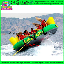 Water sport Crazy UFO/Inflatable Carzy Sofa /fly fishing tude,Water air sofa UFO with cushion water sports game