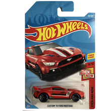 New Arrivals 2018 8d Hot Wheels 1:64 red custom 15th ford mustang Car Models Collection Kids Toys Vehicle For Children hot cars(China)