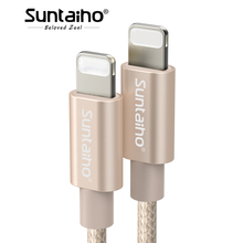 Buy Suntaiho iPhone X 8 7 6 Plus 6S 5 5S USB Charger Fast Charging Cable iPad iPod Lighting Charging Mobile Phone Cable for $1.47 in AliExpress store