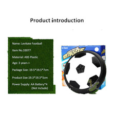 Hovering Ball Kids Indoor Safe Fun Soft Gliding Floating Foam Soccer Football free shipping