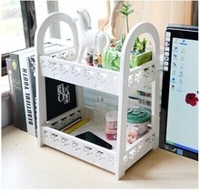 Desktop small bookcase desk easy storage racks aircraft finishing Desktop wash rack
