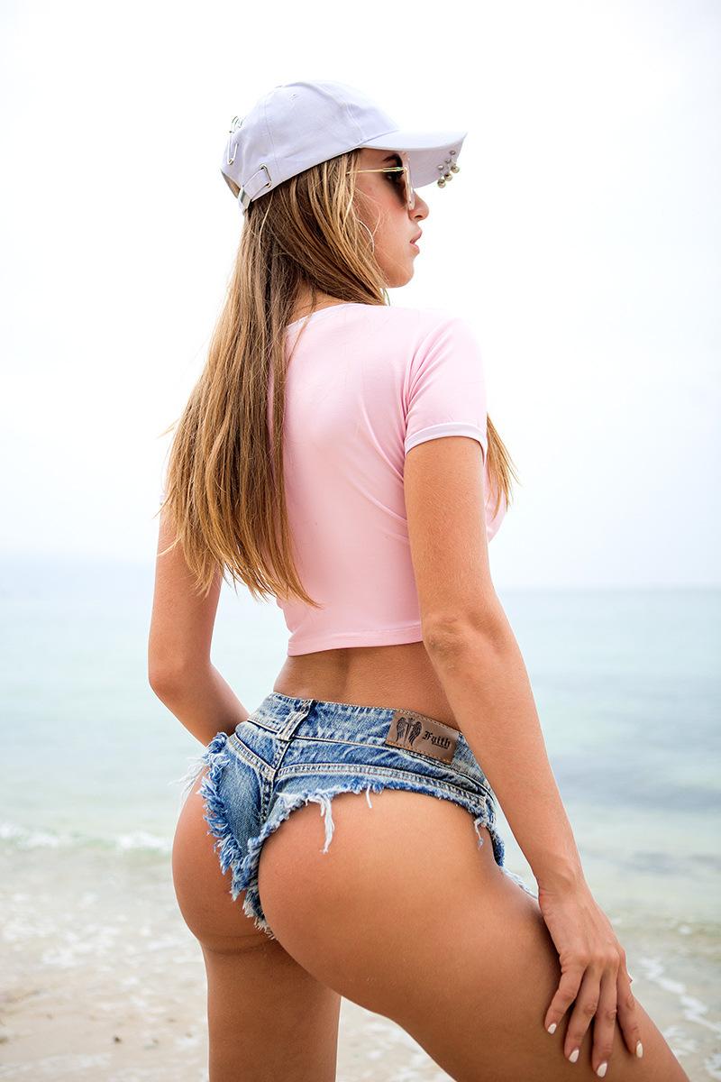 New 17 Summer Women Sexy Jeans Shorts Feminino Candy Color Fashion Hot Denim Shorts Beach Ladies Party Low Waist Mini Shorts 13