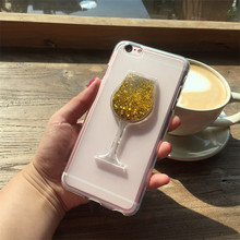 Buy Meizu M6 Mini Red Wine Cup Dynamic Liquid Bling Glitter Quicksand Moving Star Cover Meizu Meilan 6 3D Cup Phone Case for $4.73 in AliExpress store
