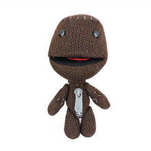 14CM Little Big Planet Plush Toy Sackboy Cuddly Knitted Stuffed Doll Figure Toys Cute Kids Animal Comfort Doll(China)