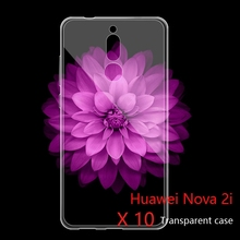 Ricestate transparent Case For Huawei Nova 2i 5.9 inch Clear TPU Back Cover Noxa2i Protect Skin Silicone Soft case 10 Pcs/lot(China)
