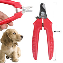 Pet Nail Trimmer New Red Pet Dog Toe Care Nail Grooming Trimmer Clipper