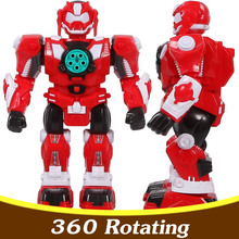 Child Electric Toys Remote Control Robot Toy Electric Action Toy Figures Waking Dancing Robot Toy TY60(China)